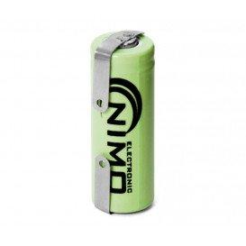 Bateria 2/3AAA 1,2V 400mA NiMh C/Terminales BAT058