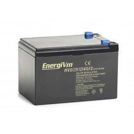Bateria PLOMO 12V 14Ah para VEHICULOS a MOTOR ELECTRICO 151x98x97mm ENERGIVM