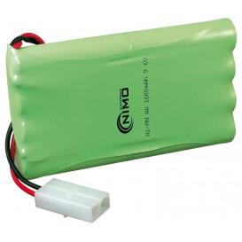 Bateria 9,6V 1300mA PackRACING 8xAA NiMh