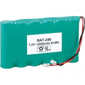 Pack Baterias 7,2V/2400mA NiMh AAx6