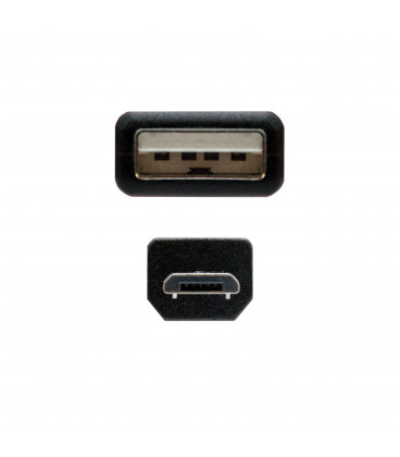Cable USB A Macho a MicroUSB B Macho 3m NANO