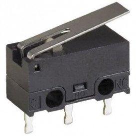 Microrruptor con Palanca de 12,8mm 3A/125Vac Omron