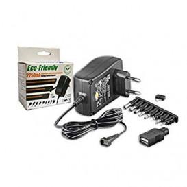 Alimentador Universal salidas 3-12Vdc 2250mA 27W 8 conectores