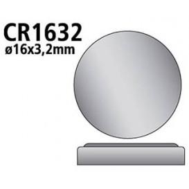Pila Litio CR1632 RENATA 3V 125mAh libre de Mn02