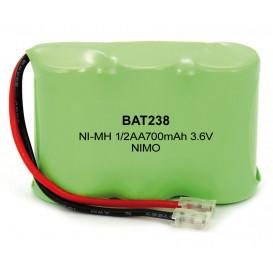 Bateria Inalambrico 3.6V 700mA NiMh T279-GP