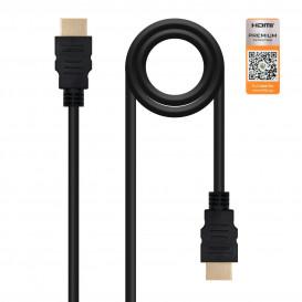 Cable HDMI a HDMI  1,5m 4K@60Hz
