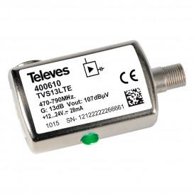 Amplificador de linea UHF 13dB 470-790Mhz C60 F