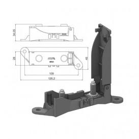 Portafusible Coche Para Fusibles MEGAVAL de 68,8mm
