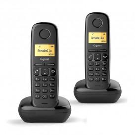 Telefonos Inalambricos DUO A170 GIGASET NEGRO