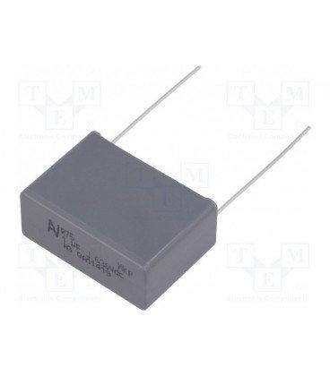 Condensador Polipropileno 1uF 630Vcc R27,5mm