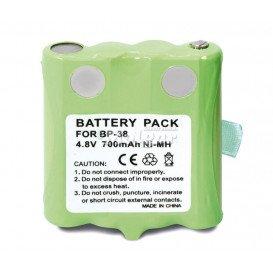 Bateria 4,8V 700mA NiMh para Walkie Motorola