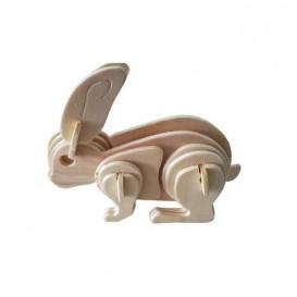 Puzzle Conejo de Madera C-9772