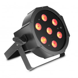 Foco LED PAR Plano 7x4W RGBW