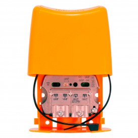 Amplificador Mastil 24dB 3e UHF-VHF-FI LTE790 NanoKom