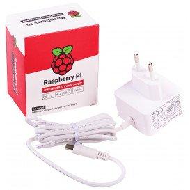 Alimentador Raspberry Pi4 USB-C 3A