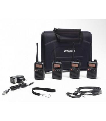 Pack 4 Walkies PMR446 R10