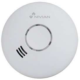 Detector Humo Inalambrico Nivian Smart