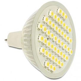 Bombilla LED MR16 2,5W 48Led Blanco Calido DELOCK