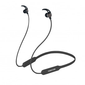 Auriculares Cuello Bluetooth Neckband NEGRO