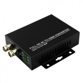 Conversor BNC a HDMI con Audio