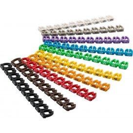Marcador Cable 6mm Alfabetico A-C