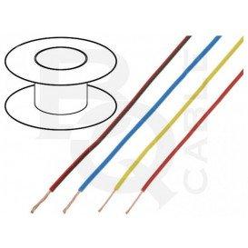 Bobina 100 m Cable Conexion 0,5mm color Blanco BQ