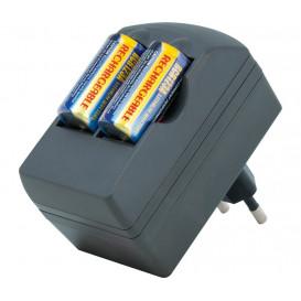 Cargador Bateria CR123A mas 2 BAT826