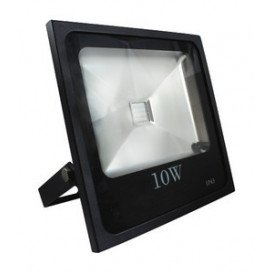 Foco Led 10W RGB IP66 con Mando a Distancia