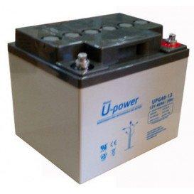 Bateria Plomo 12Vdc 40Ah Ciclica (GEL) medidas 197X165x170  U-POWER MVD12400