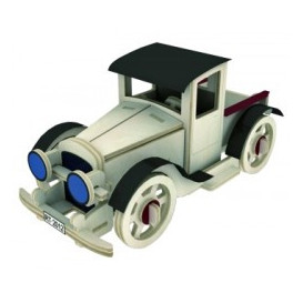 Puzzle Madera coche PICK-UP C-9726 Cebek