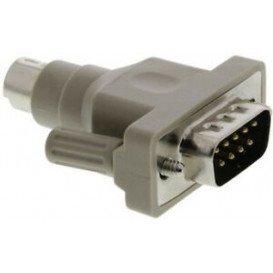 Adaptador D-Sub9 Macho a MiniDin6 Macho PS/2