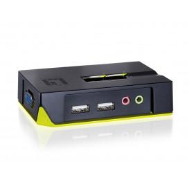 KVM USB 2PC KVM-0221 LEVEL ONE
