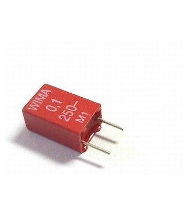 Condensador Poliester 100nF 250V  R5mm  100K WIMA