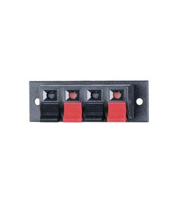 Conector para altavoces stereo para panel a presion  CC210D  10.624/4