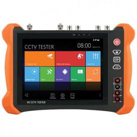 Comprobador CCTV Universal 8in 4K 5N1 SAFIRE