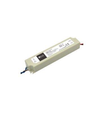 Alimentador para LEDs 12Vdc 20W IP67 160x30x20mm