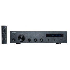 Amplificador Estereo HiFi BT/USB/FM 80+80Wrms
