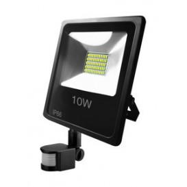 Foco LED 10W 6500K IP66 con Sensor de Movimiento