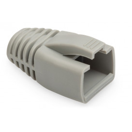Capuchon Funda Protectora para Conector RJ45 GRIS AWG23