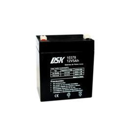 Bateria PLOMO 12V 5Ah UPS/SAI medidas 90x70x105mm DSK