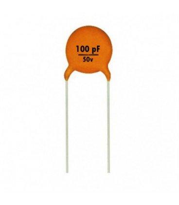 Condensador Ceramico      100pF 50V  100pf
