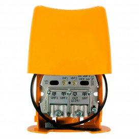 Amplificador Mastil 28dB 3e UHF-UHF-FImix LTE700 NanoKom