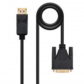 Cable DisplayPort a DVI NEGRO 2m