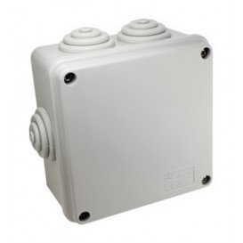 Caja Conexiones Cuadrada Estanca 105x105x55mm