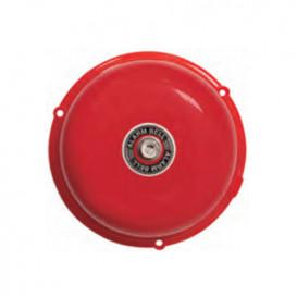 Timbre Industrial Campana 10cm 85Db 230Vac color Rojo K27610