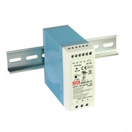 Fuente Alimentacion CARRIL DIN 24Vdc 2,5Amp 60W Mean Well