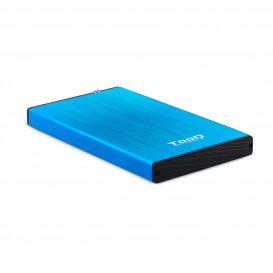 Caja Externa Disco Duro 2,5 SATA USB 3.0 AZUL
