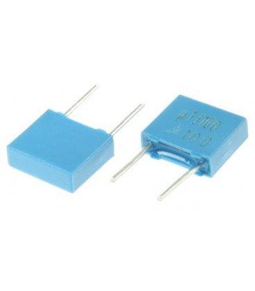 Condensador Poliester 100nF 100V R5mm 100K WIMA