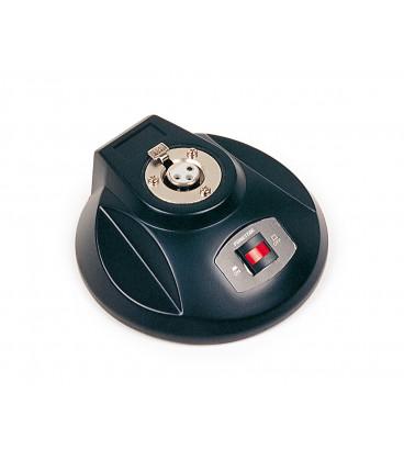 Base Sobremesa para Microfono Dinamico o Condensador con XLR