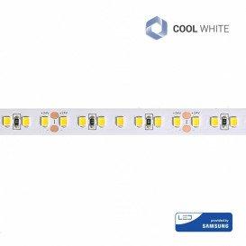 Tira LED 24V 14,4W/m SMD2835 120LED/m 6500K IP20 5m